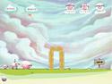 in-game screenshot : Home Sheep Home (og) - Help the Sheep get home!
