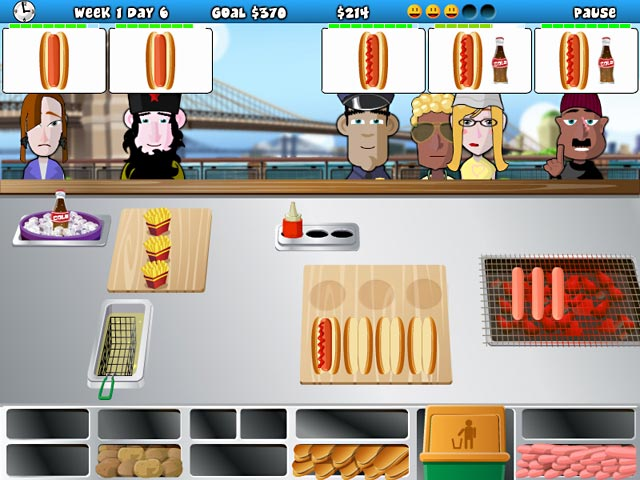 Hotdog Hotshot Screenshot http://games.bigfishgames.com/en_hotdog-hotshot/screen1.jpg