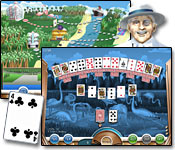 Hoyle Miami Solitaire Game