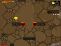 in-game screenshot : Hurry Up Bob (og) - Escape from the lava!