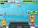 in-game screenshot : Huru Humi - Schoolyard Recycling (og) - Go green with the Huru Humi kids.
