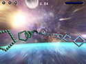 in-game screenshot : HyperDrive X (og) - An exciting full-tilt hyperspace race.