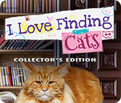I Love Finding Cats Collector's Edition