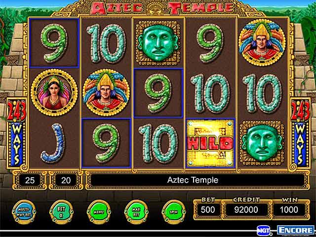 Aztec Sun Slot Machine - Win Big Playing Online Casino Games