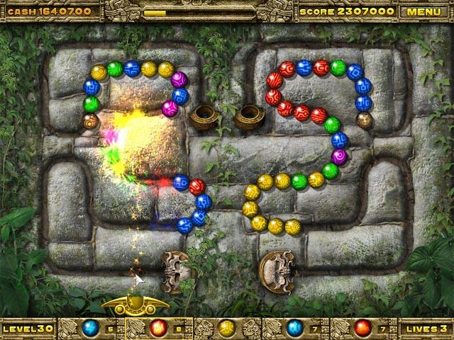 Inca Ball Screenshots