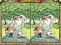 in-game screenshot : Jasmine & Jack (og) - Spot the differences in each scene!