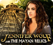 Jennifer Wolf and the Mayan Relics for Mac Game