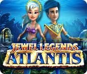 Jewel Legends: Atlantis Game Featured Image