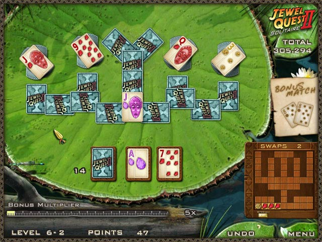 jewels quest solitaire