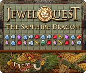 Jewel Quest: The Sapphire Dragon Game Featured Image