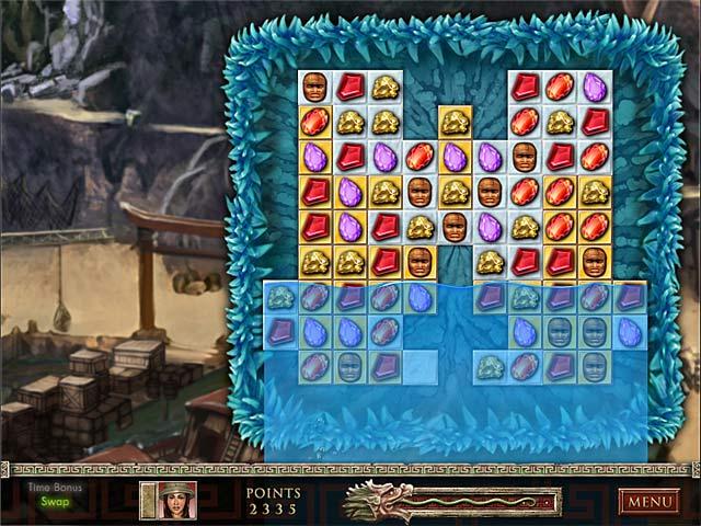 Gra Jewel Quest: The Sapphire Dragon Gra Bezpłatne