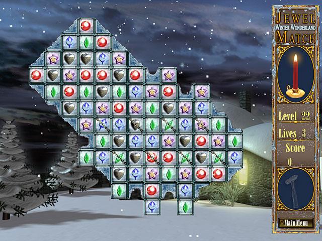 Gra Jewel Match – Winter Wonderland Gra Bezpłatne