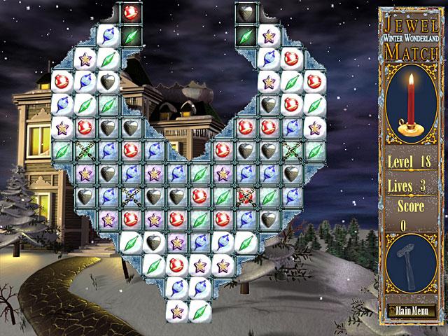Bezpłatne pobieranie Jewel Match – Winter Wonderland