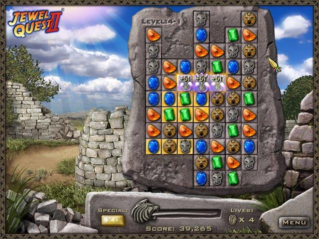 Gra Jewel Quest II Gra Bezpłatne