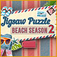 Buy PC games online, download : Jigsaw Puzzle Beach Season 2