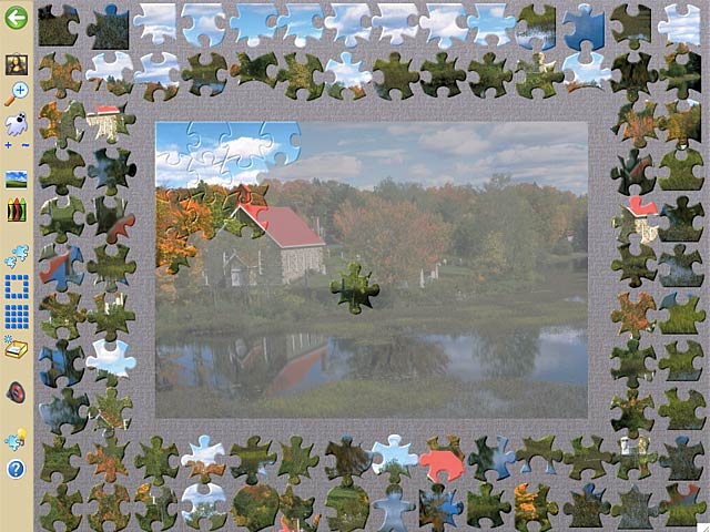 Jigsaws Galore - Screenshot