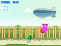 in-game screenshot : Just Bouncing (og) - Avoid the obstacles!