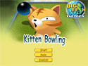 in-game screenshot : Kitten Bowling (og) - It's time for some Kitten Bowling!