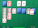 in-game screenshot : Klondike Solitaire (og) - Cozy up to a familiar favorite.