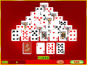 in-game screenshot : Klondike Solitaire (og) - Peg solitaire, online and with klarbles!