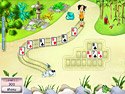 in-game screenshot : Koi Solitaire (pc) - Build gorgeous gardens!