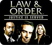 Law and Order Justice is Served Feature Game