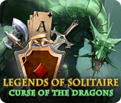 Legends of Solitaire: Curse of the Dragons Game Featured Image