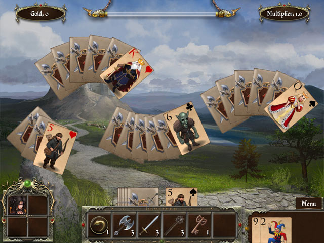 Legends of Solitaire: Curse of the Dragons