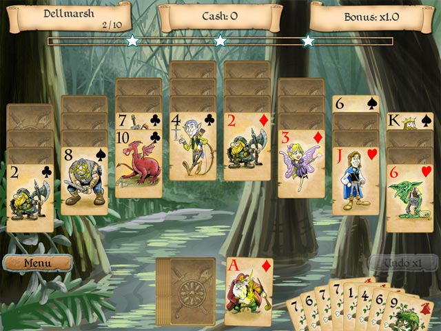 Gra Legends of Solitaire: The Lost Cards Gra Bezpłatne