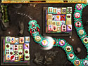 in-game screenshot : Liong: The Dragon Dance (pc) - Its Mahjong with a Puzzle Twist!