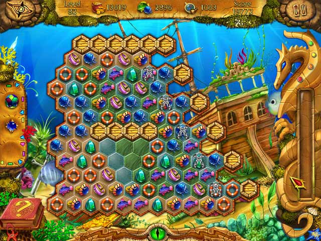 Gra Lost in Reefs Gra Bezpłatne