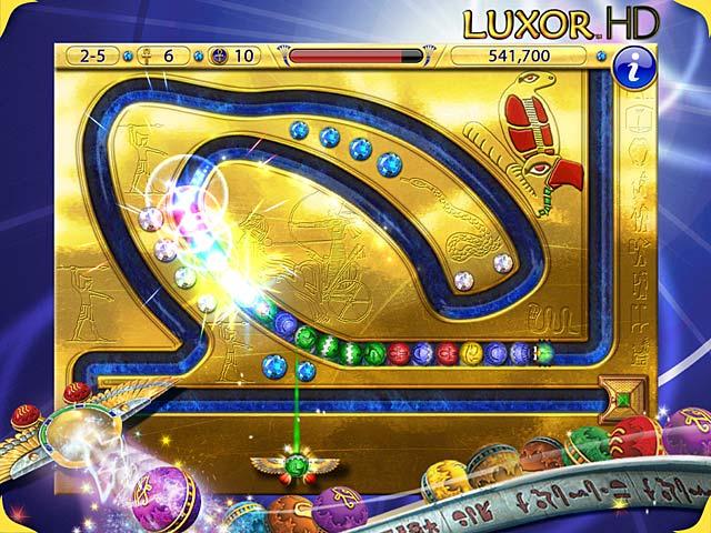 Gra Luxor HD Gra Bezpłatne