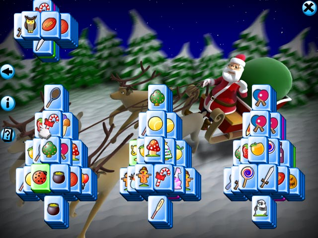 Mahjong Christmas.Mahjong Christmas Mac Game Christmas Themed Graphics