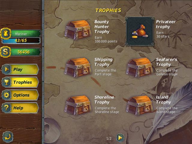 Mahjong Gold 2: Pirates Island