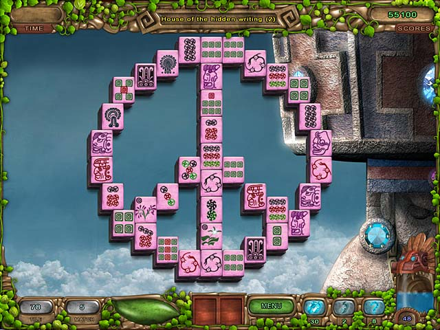 Mahjong Legacy of the Toltecs - Screenshot