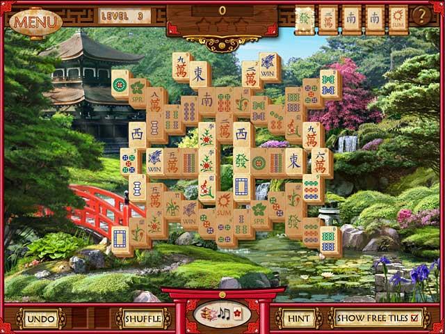 Mahjong Memoirs - Click for fullscreen