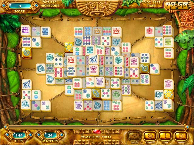 Click To Download Mahjongg: Ancient Mayas