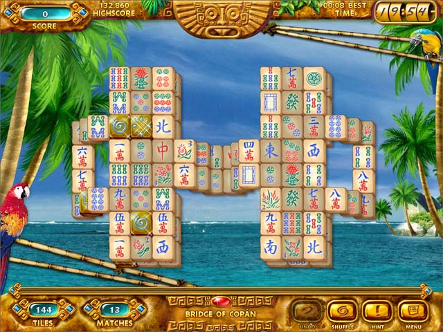 Mahjongg: Ancient Mayas Screen Shot 2