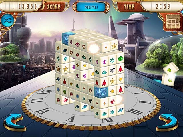 Mahjongg Dimensions Deluxe: Tiles in Time Screenshot http://games.bigfishgames.com/en_mahjongg-dimensions-deluxe-tiles-in-time/screen1.jpg