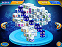 in-game screenshot : Mahjongg Dimensions Deluxe (pc) - Transport to another Mahjongg Dimension!