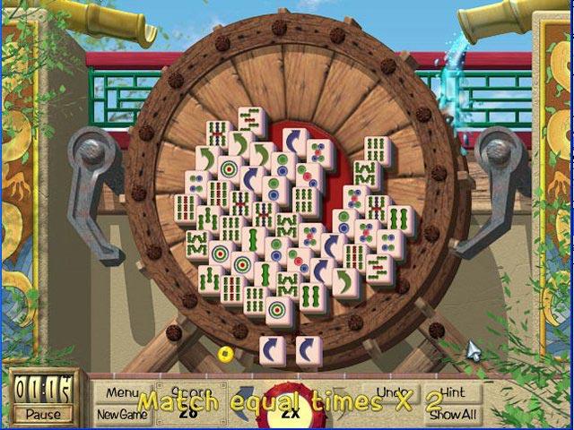 Mahjong Garden To Go Screen Shot 1