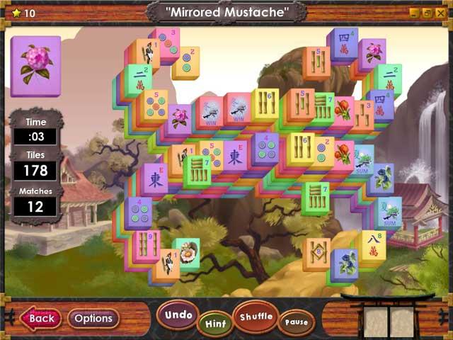 war mahjong full screen