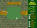 in-game screenshot : Maze Stopper (og) - An a-maze-ing game of flag keepaway.
