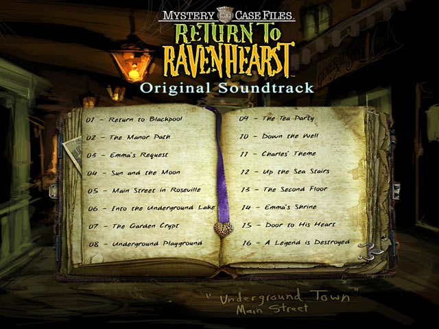 Click To Download Mystery Case Files: Return to Ravenhearst Original Soundtrack ™