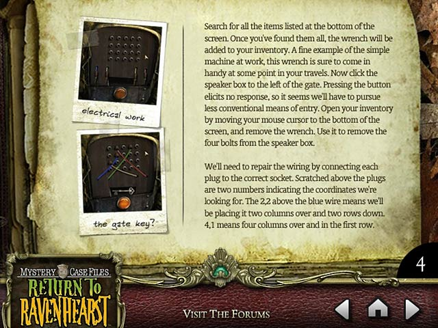 Mystery Case Files: Return to Ravenhearst Strategy Guide Screenshot http://games.bigfishgames.com/en_mcf-return-to-ravenhearst-strategy-guide/screen1.jpg