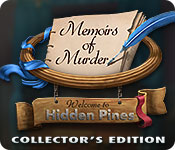 Memoirs of Murder: Welcome to Hidden Pines Collector's Edition Game Featured Image