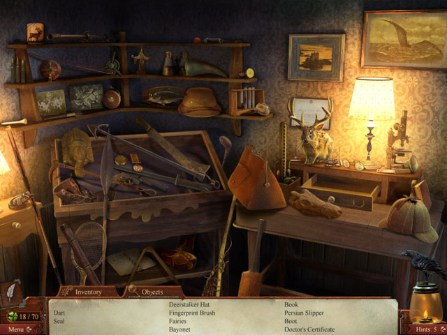 Midnight Mysteries: Haunted Houdini Deluxe - Screenshot