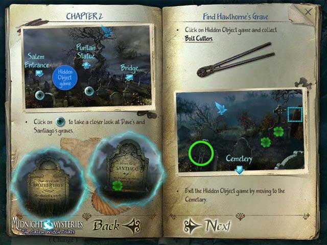 Gra Midnight Mysteries: The Salem Witch Trials Strategy Guide Gra Bezpłatne