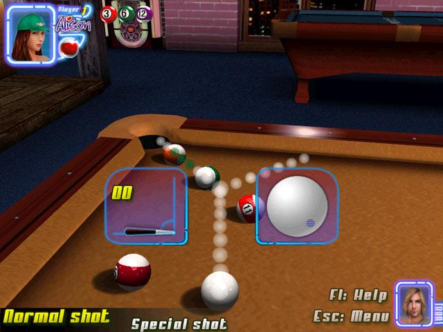 Gra Midnight Pool 3D Gra Bezpłatne
