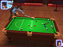 in-game screenshot : Midnight Pool 3D (pc) - Rack `em up and sink `em down!